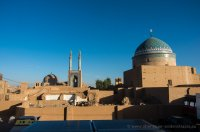 Morgenstimmung in Yazd