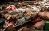 Kirgisisches Sonntagsfrühstück
