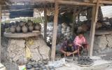 Töpfermanufaktur in Bhaktapur - wie vor 400 Jahren.