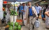 Der Green Market in Duschanbe.