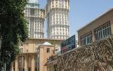 Die Zwillingstürme von Rudaki-Plaza.
