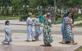 Mädels im Park.