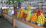 Obstmarkt in Mary/Turkmenistan.