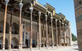 Moschee Bola Xauz (1712) in Buchara.