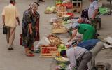 Kleiner Morgenmarkt (fünf Uhr in der Früh!) in Buchara.