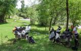 Pause auf dem Weg zum Sary-Chelek-See.